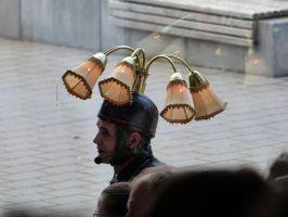 Der Lampenmann...